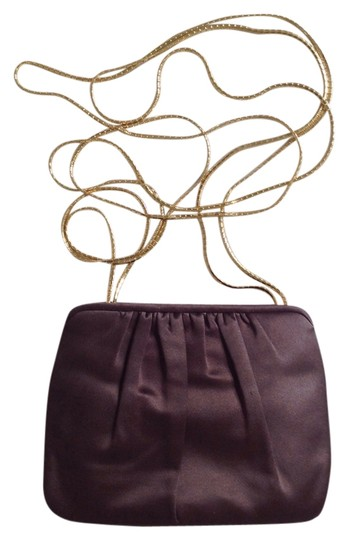 Judith Leiber Clutch Evening Satin Shoulder Bag