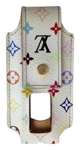 Louis Vuitton LOUIS VUITTON Monogram Multicolor White ipod shuffle Case