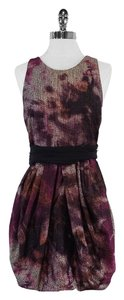Alice + Olivia short dress Multi Color Metallic Print on Tradesy