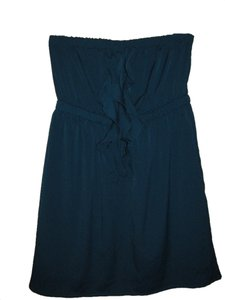Lush Strapless Silky Dress