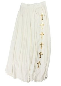 Wildfox Maxi Skirt Ivory