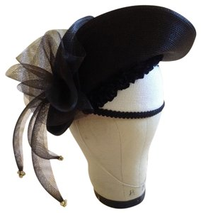 other Vintage Black & White Wedding Derby Joker Hat