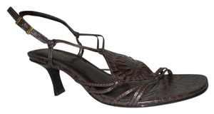 Carlos Santana Leather brown Sandals