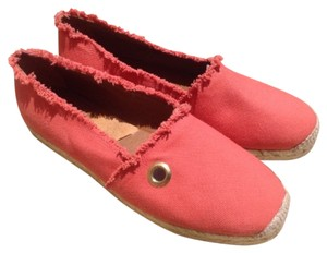 Hunter Espadrille Slip On Comfort Dark Tangerine Flats