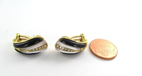 Other 18KT YELLOW GOLD EARRINGS WITH DIAMONDS