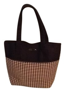 Longaberger Tote in Black and Tan