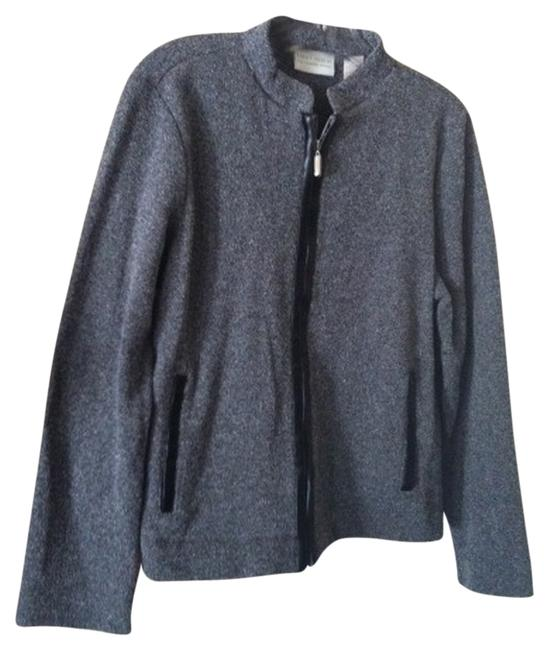 Preload https://item5.tradesy.com/images/liz-claiborne-gray-and-black-first-issue-spring-jacket-size-10-m-950544-0-0.jpg?width=400&height=650