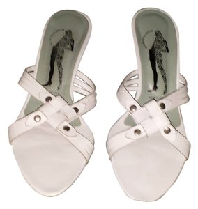 Belle by Sigerson Morrison Leather white Sandals