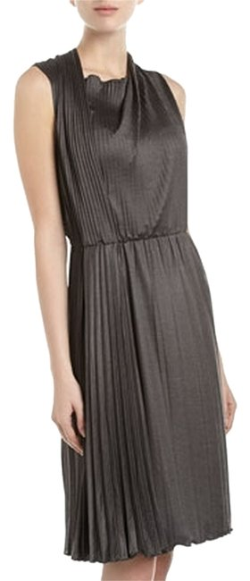 Preload https://img-static.tradesy.com/item/951360/moschino-charcoal-satin-jersey-pleated-draped-cheap-and-chic-knee-length-short-casual-dress-size-8-m-0-0-650-650.jpg