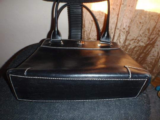 Lambertson Truex Made in Italy Hand Satchels Shoulder Black Clutch