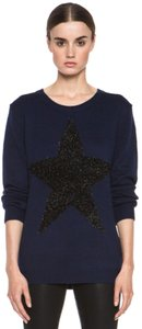 Markus Lupfer Blue Star Design Star Wool Merino Sweater