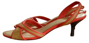 Talbots Summer Spring Date Night pink Sandals