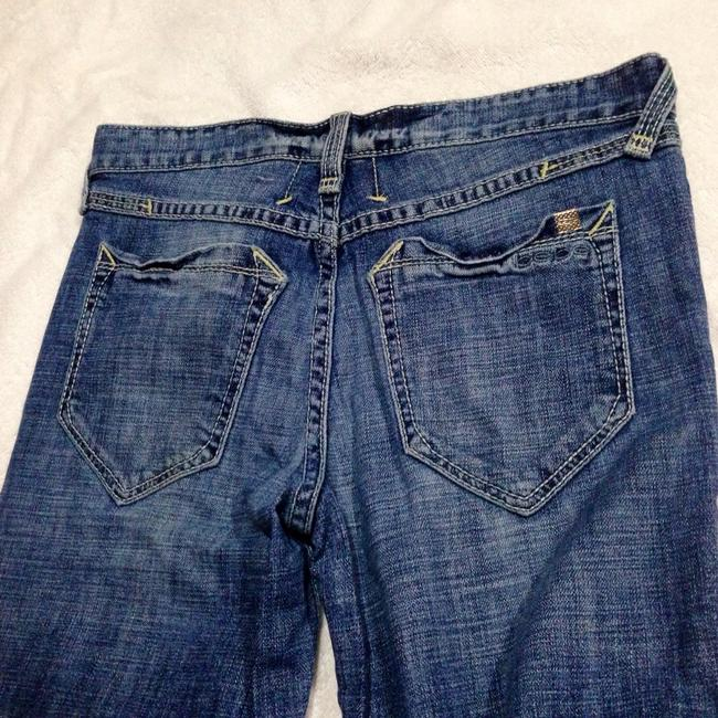 bebe Relaxed Fit Jeans-Medium Wash