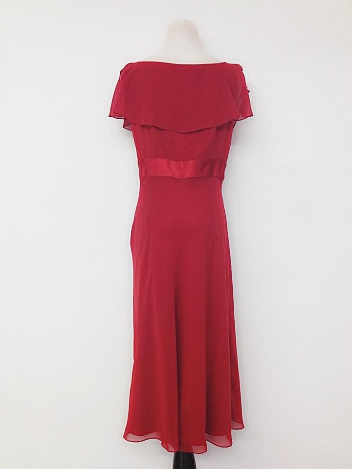 Liz Claiborne Red Mid Length Formal Dress Size 8 M Tradesy
