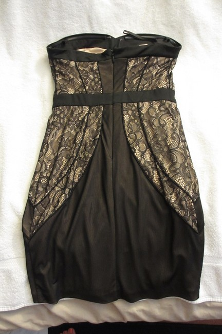 bebe Little Lace Short Dress