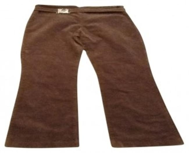 Preload https://img-static.tradesy.com/item/95187/frederick-s-of-hollywood-brown-boot-cut-pants-size-4-s-27-0-0-650-650.jpg