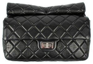 Chanel Rollup Reissue Black Clutch