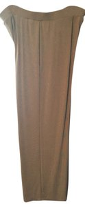Chico's Elastic Waist Spandex Acetate Relaxed Pants Tan/Biege