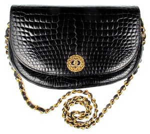 Chanel Crocodile Vintage Chain Shoulder Bag