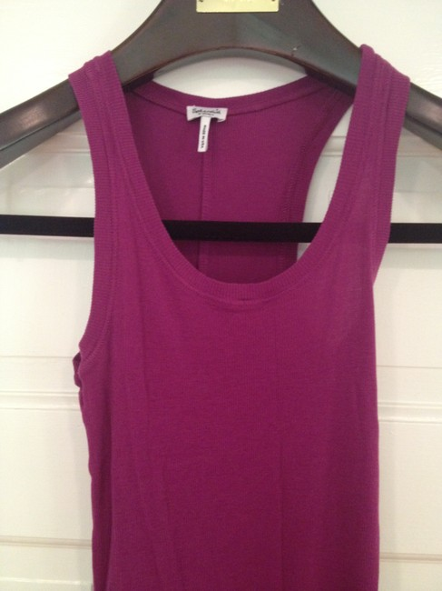 Splendid short dress Magenta Beach Ribbed Jersey Racerback on Tradesy