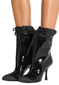 Miu Miu Fits Small To Size Black Boots