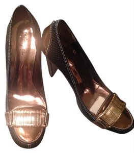 Sergio Zelcer Black And gold Pumps