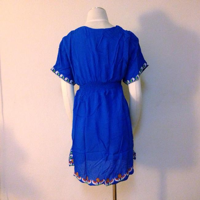 display short dress Blue on Tradesy