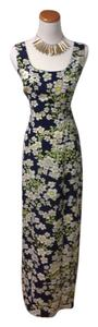 Blue, White, Yellow, Green Maxi Dress by Rampage