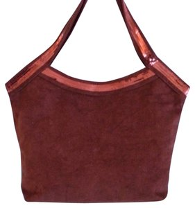 Private Collection Tote in Dark Brown