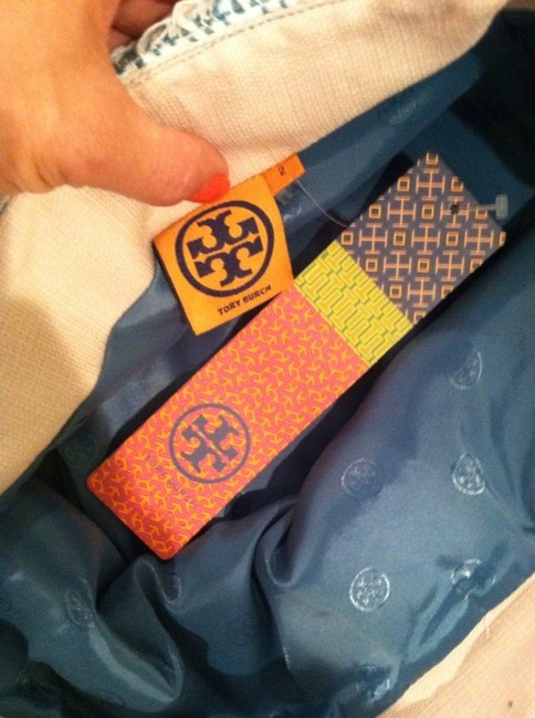 Tory Burch Skirt Mint Green And White