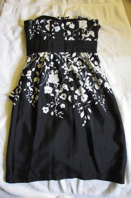 Max and Cleo Floral Strapless Dress