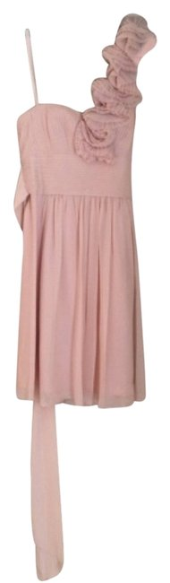Item - Bare Pink Thalia Mid-length Cocktail Dress Size 4 (S)