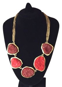 Anthropologie SET ( Necklace+ Earrings)