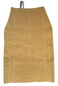 House of CB Skirt Yellow