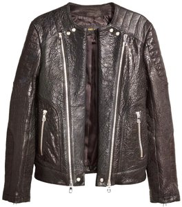Balmain X H&m Zipper Motorcycle Jacket