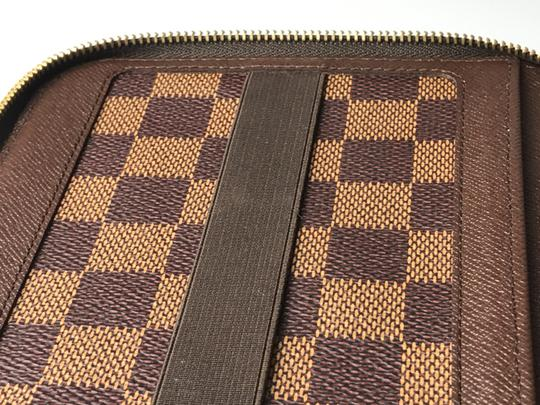 Louis Vuitton Louis Vuitton Damier Ebene Olav Wallet/Organizer