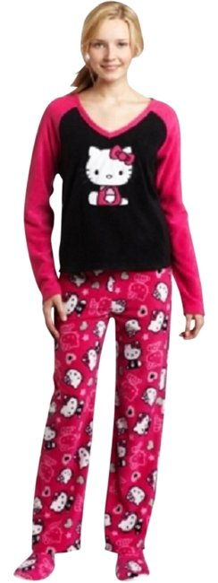 Item - Black and Pink Pajamas