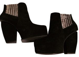 Messeca New York Black/silver Platforms