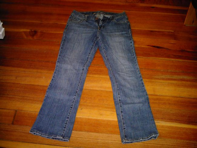 Old Navy Ankle Length Jeans Straight Pants BLUE