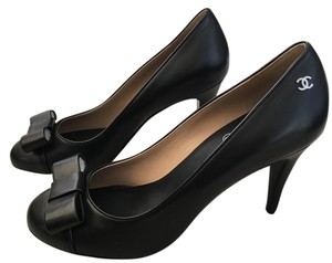 Chanel Heels Black Pumps