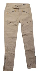 Ralph Lauren Blue Label Jeans Cargo Cargo Pants Cream