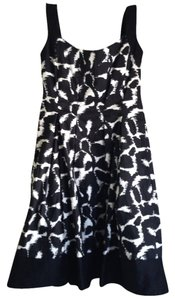 Nordstrom short dress Black White Petite J.crew Petite on Tradesy