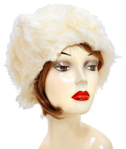 Cream Fur Headband Earmuff Winter Accessory