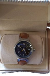 Louis Vuitton stainless steel lady's tambour watch