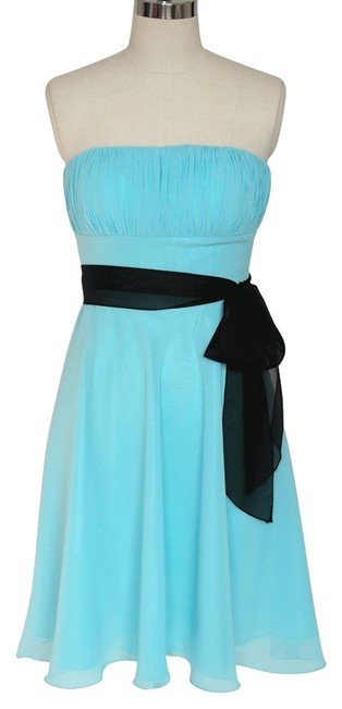 Other Strapless Chiffon Pleated Formal Dress