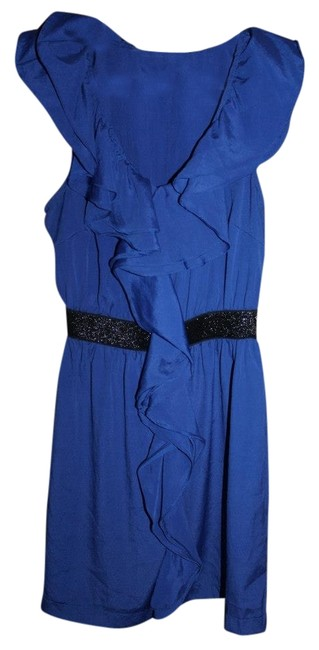 Pins and Needles short dress Blue Urban Outfitters Ruffles on Tradesy