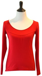 Ann Taylor LOFT T Shirt Red