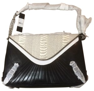 Rebecca Minkoff Cali Snakeskin Shoulder Bag