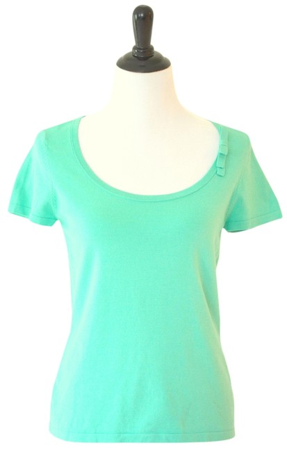 Preload https://item4.tradesy.com/images/ann-taylor-summer-top-turquoise-952853-0-0.jpg?width=400&height=650
