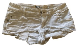 Brandy Melville Vintage Cut Off Shorts White